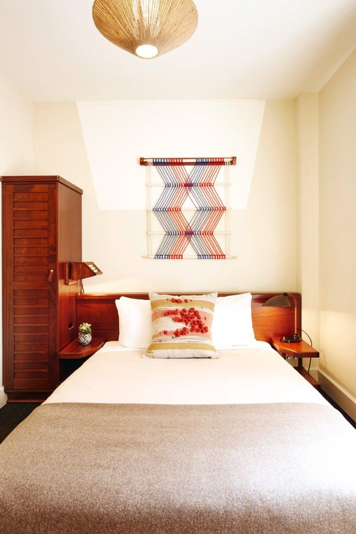 Private rooms are outfitted with all the modern comforts (WiFi, TVs, posh Argan bath products). #Jetsetter