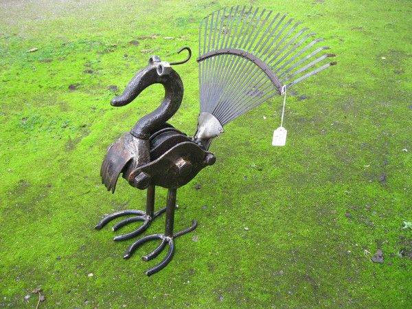 Metal Bird- garden art