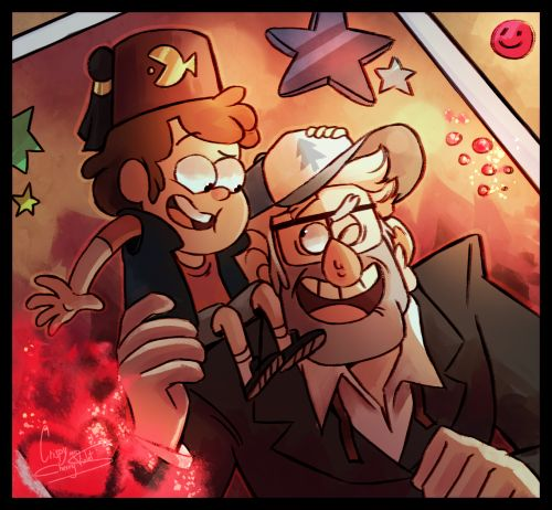 Imagen de gravity falls, dipper pines, and stan pines