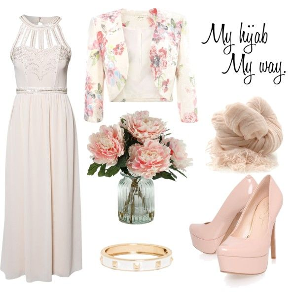 """Muslimah fashion 3"" by lai-la on Polyvore"