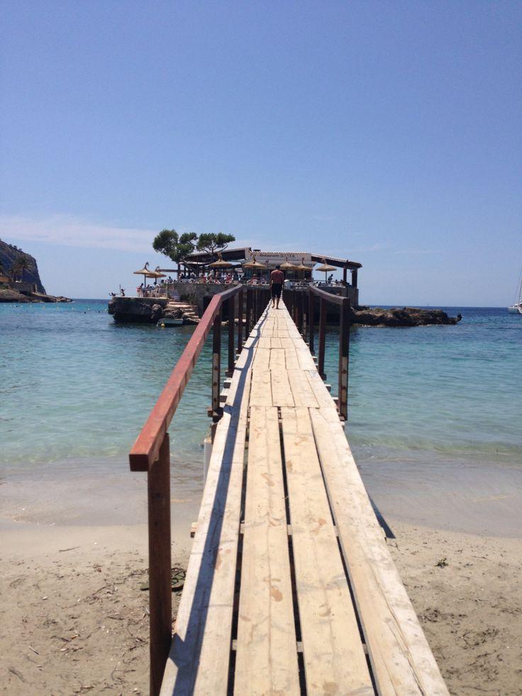 Camp de Mar, Mallorca, Spain - a fun place to eat!