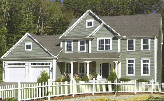 Scottish Thistle siding. Love the color!    Welcome to Tailor Made - Windows, Doors, Awnings, Siding and Insulation