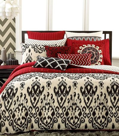 INC International Concepts Ikat Bedding Collection | Decor by Color
