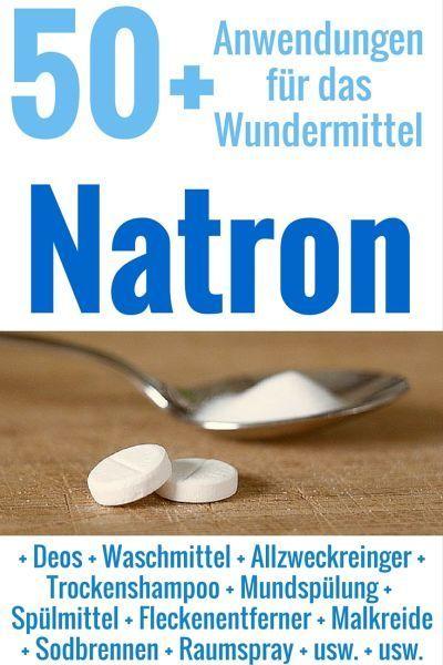 Natron ist vielleicht das vielseitigste Haushaltsmittel. Wenn du erst einmal weißt, wofür du es einsetzen kannst und wie wenig es kostet, willst du nie mehr drauf verzichten!