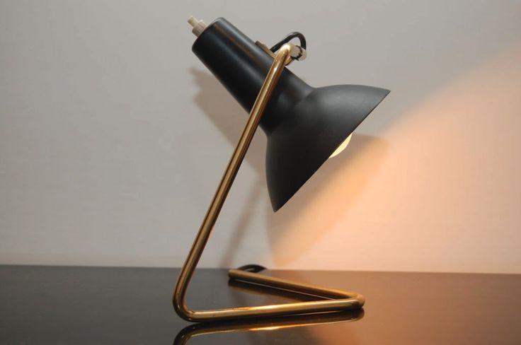 VITTORIANO VIGANO DESK LAMP ; ARTELUCE ; LABELLED at 1stdibs