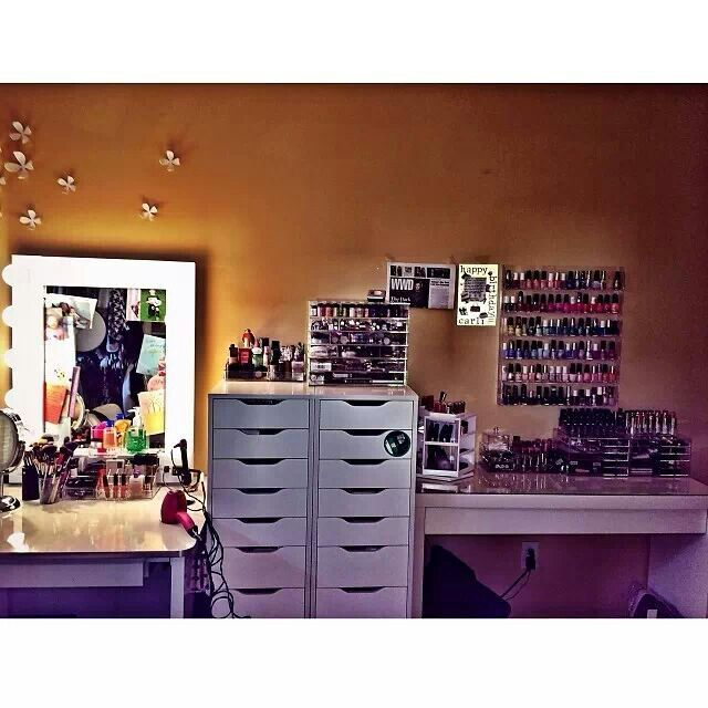 Carli Bybel Makeup Room Storage Make Up Closet Room In