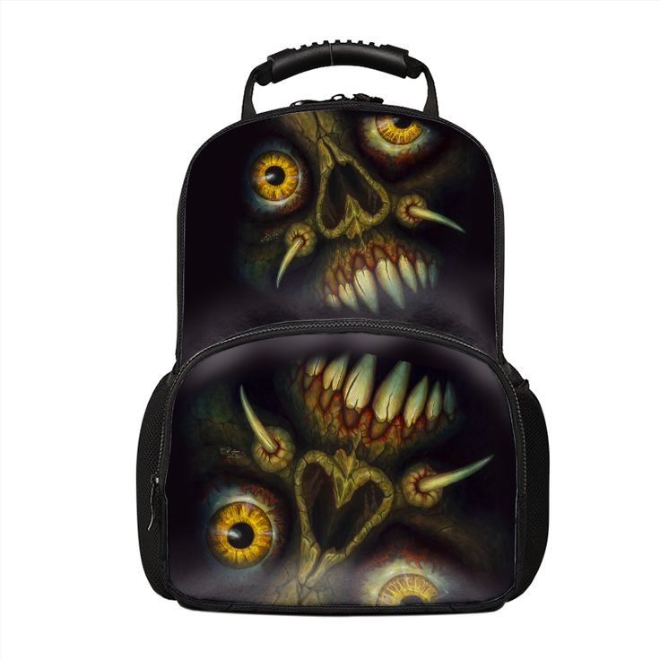 Your Inner #Demon #Appears Out Of The #Darkness! A very #dark #backpack for a #person with a very #darkSoul!