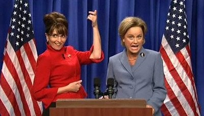 Sarah Palin (Tina Fey) and Hillary Clinton (Amy Poehler) - One of the best SNL skits of all time
