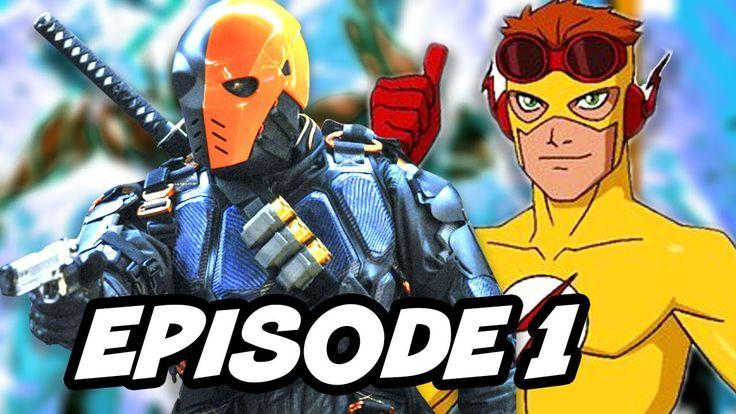 Arrow Season 6 Episode 1 and Young Justice Season 3 Breakdown