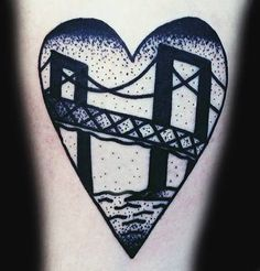 Newport Bridge Tattoo #BridgeTattoo TattooRealisticCrownThornsBlackAndGreyPhotograph #TattoosByCaptainBret  #NewportRhodeIsland  #TattooShop #TattooStudio