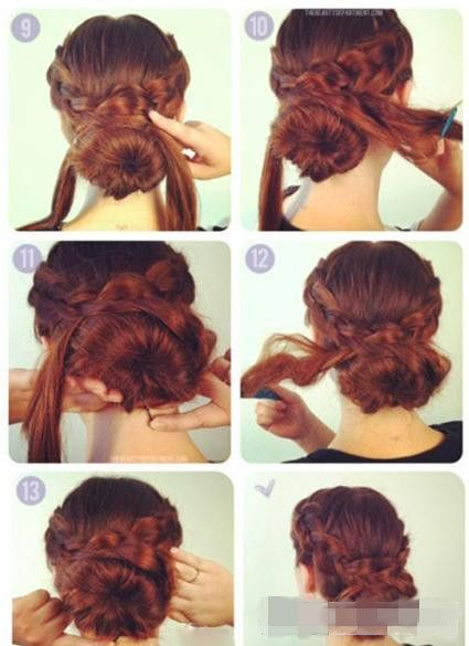 wedding updos step