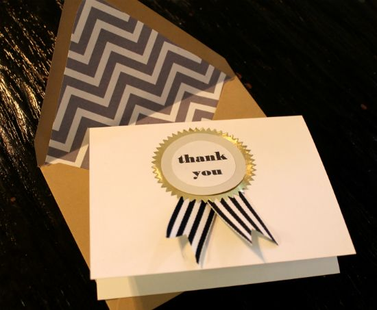 diy ribbon thank you cardsDiy Medallions, Medallions Notecards, Diy Gold, Social Club, Than, Diy Thankyou, Thank You Cards, Diy Ribbons