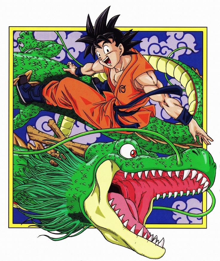 Goku and Shenron | Dragon ball | Pinterest