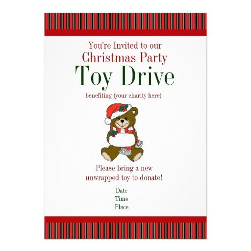 Toys For Tots Letter Head : Best toy drive images on pinterest