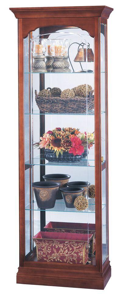Howard Miller 680-340 Portland Curio Cabinet
