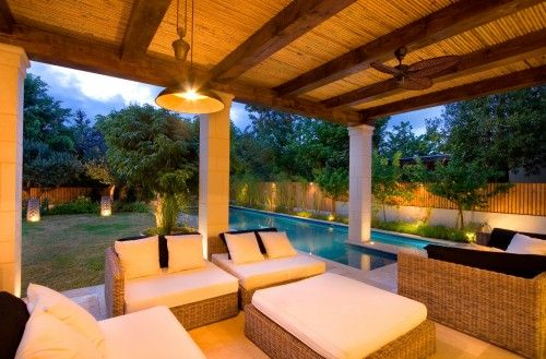 great pool if you have a small yard (not counting the fabulous seating area)...