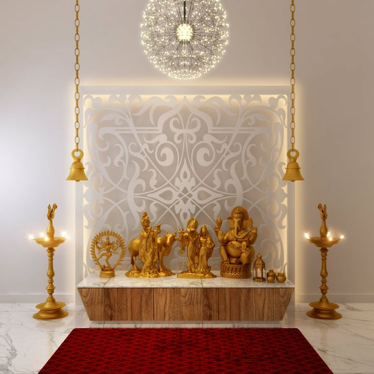 46 best images about pooja rooms on pinterest ux ui for Home mandir designs marble