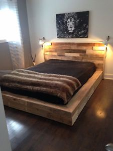 1000 id es sur le th me lits plateforme sur pinterest lits t tes de lit et cadres de lit. Black Bedroom Furniture Sets. Home Design Ideas
