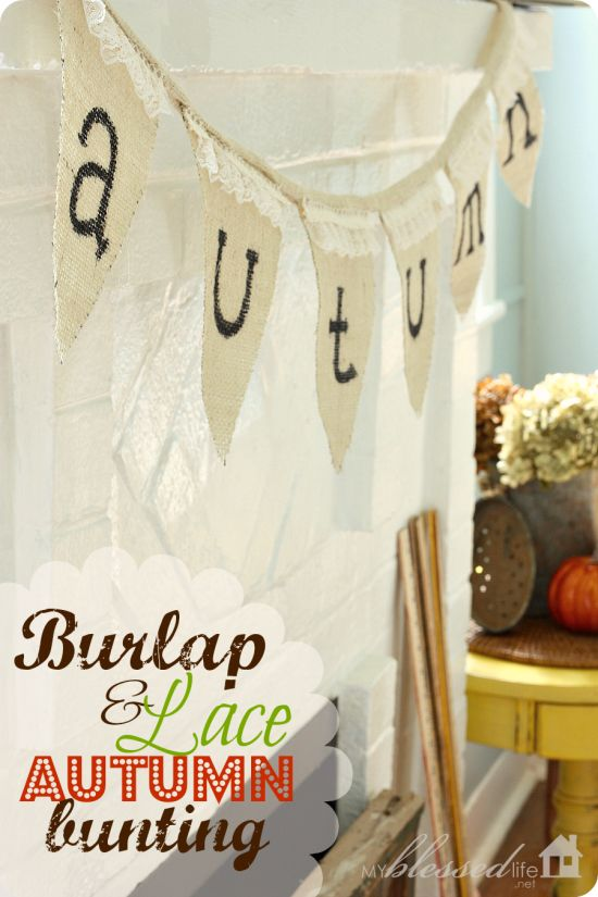 Burlap-and-Lace-Autumn-Banner from My Blessed Life