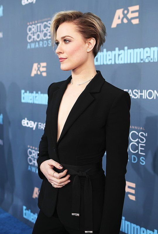 Evan Rachel Wood at the Critics Choice Awards 2016.