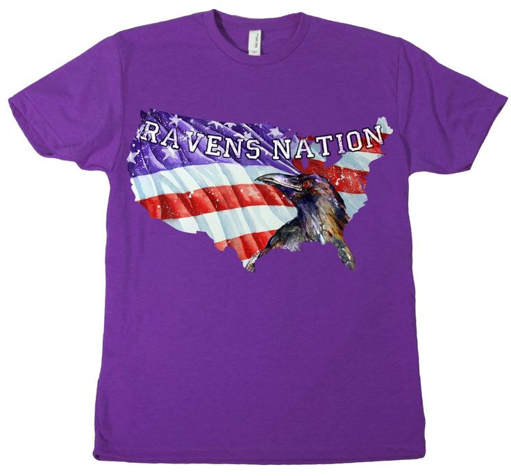 Raven's Nation - Baltimore Ravens Patriotic shirt