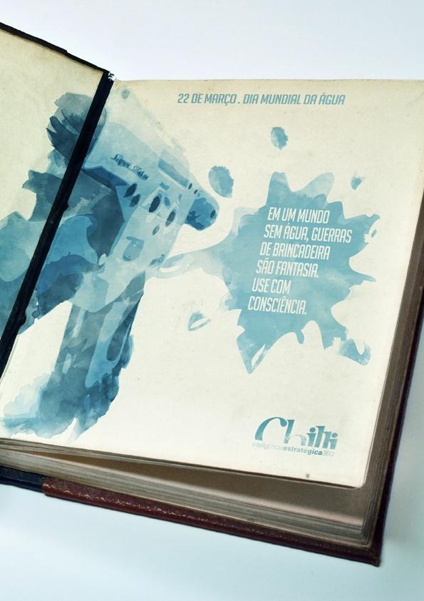 Anúncio Dia Mundial da Água