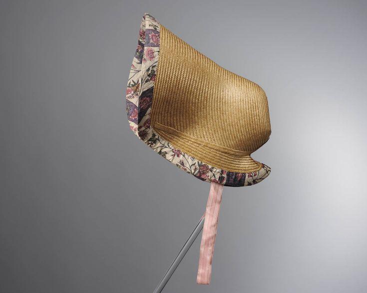 Luifelhoed gevoerd met Indiase sits, gemaakt aan de Coromandelkust in het derde kwart van de 18de eeuw. #NoordHolland #Zaanstreek