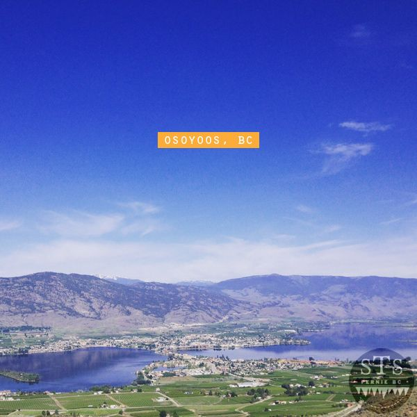 explore bc - road trip - driving into osoyoos