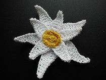 edelweiss instruction in german crochet pinterest. Black Bedroom Furniture Sets. Home Design Ideas
