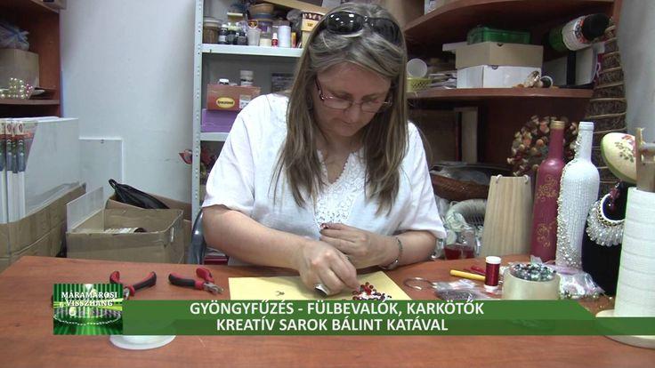 Fülbevalók és karkötők - Kreatív sarok Bálint Katával