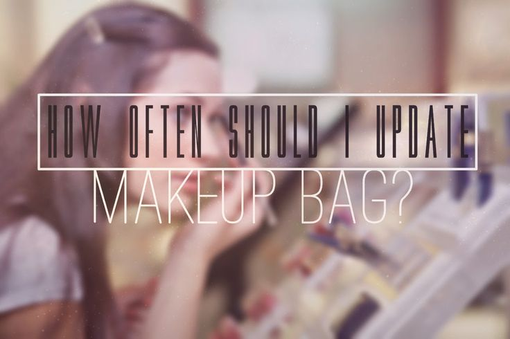 How often should I update MakeUp bag?  #beauty #makeup #cosmetic #bag #sexy #naked #mac #nars #cool #lips #love