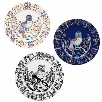 I want this whole set. In each colorway. Is that so much to ask?  iittala Taika Dinner Plate  #pintoFinn
