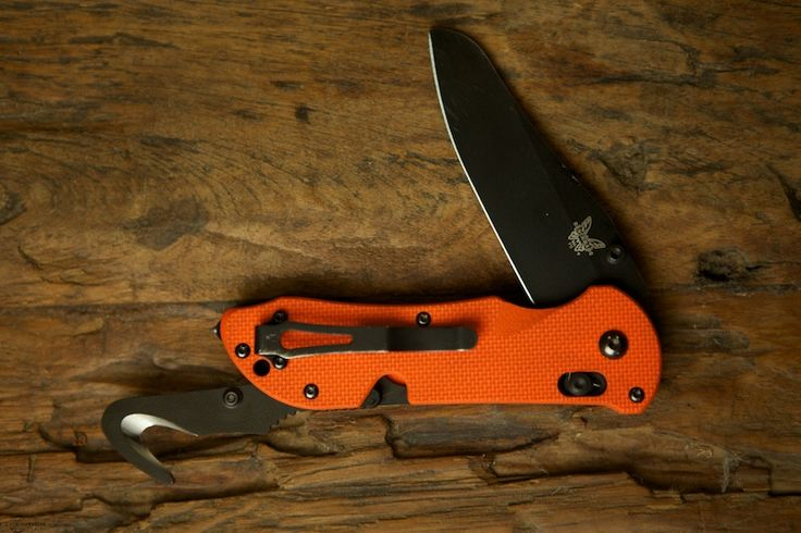The Benchmade 915 Triage - Safety In Your Pocket. $185.00