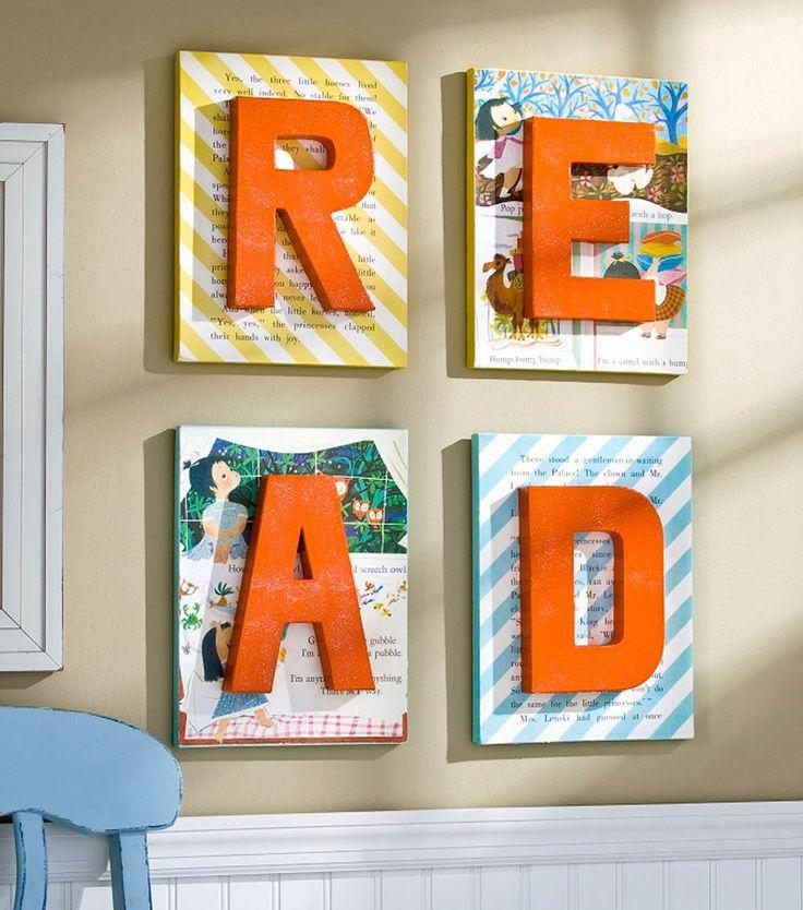 Literature Classroom Decor ~ Cute idea for a classroom reading corner or literature