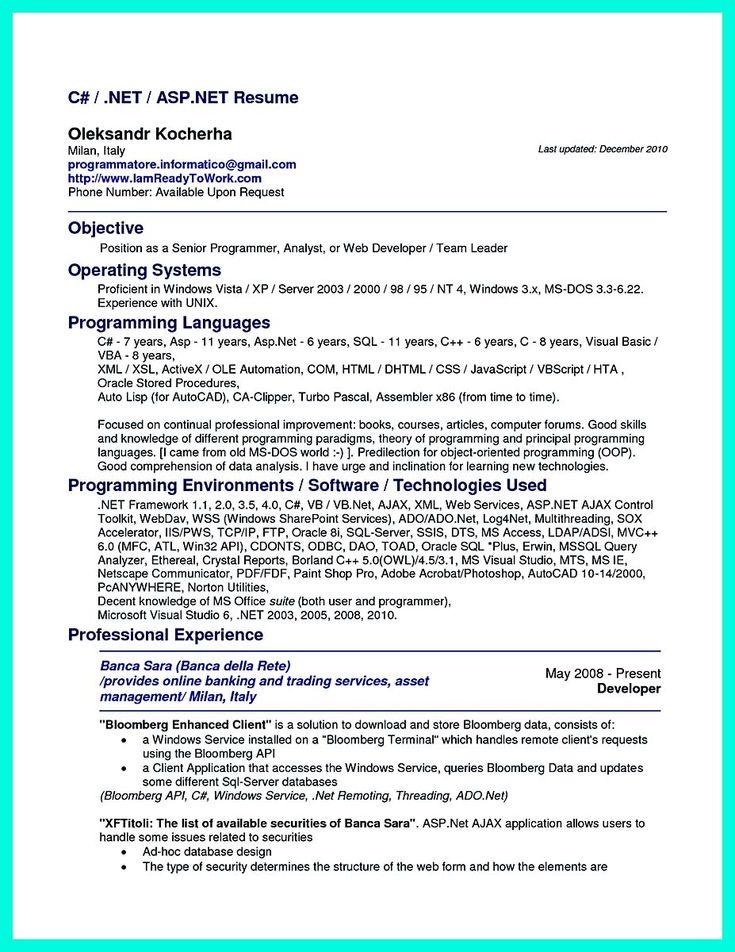 International Student Advisor Sample Resume A Well Written Resume