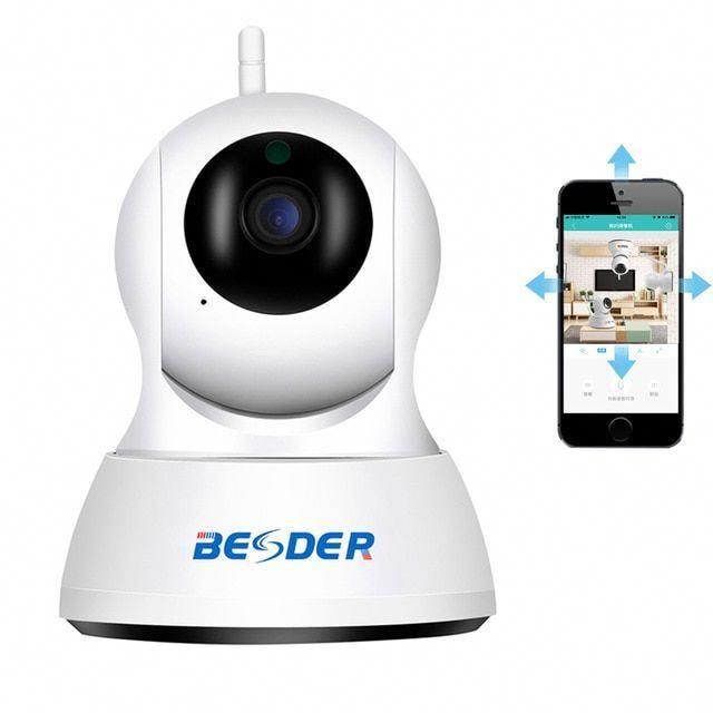 Besder Full Hd 1080p Ip Camera Wireless Home Security Camera Hd 720p Baby Monit In 2020 Security Cameras For Home Wireless Home Security Cameras Wireless Home Security