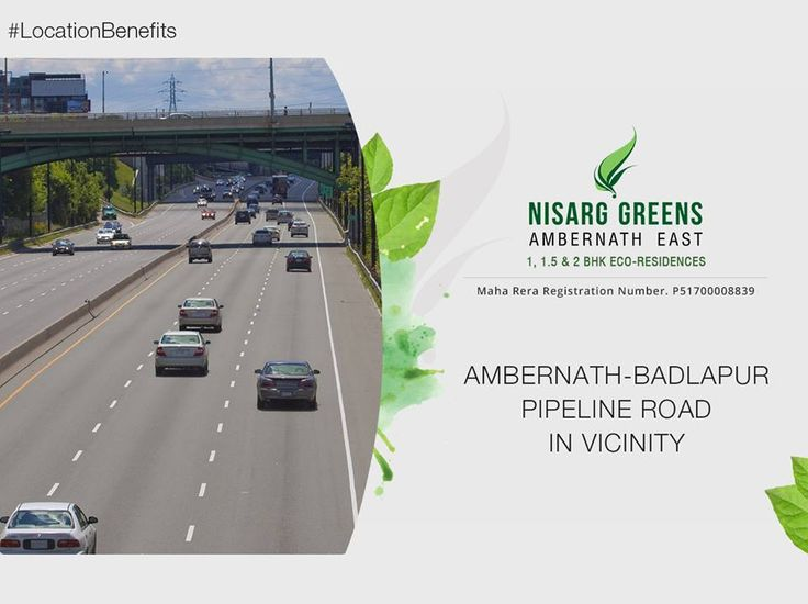 Nisarg Greens - Ambernath East 1, 1.5 & 2 BHK Eco-Residences Ambernath - Badlapur Pipeline Road in Vicinity #MahaRera Registration Number for Phase II - P51700008839 To know more log on to: http://www.nisarggroup.com/greens/ Or you can call on: 08655 787878   SMS 'GREENS' to 56161 #NisargGreens #Ambernath #RealEstate #EcoLuxury #Property #Homes