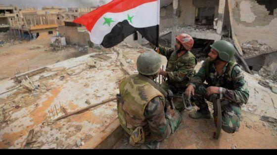 الجيش السوري يكاد ينهي وجود النصرة في آخر معاقلها بالغوطة الغربية