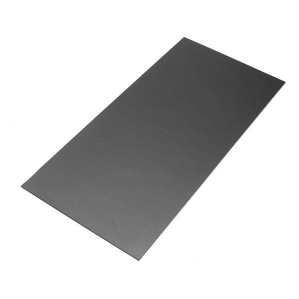 150 X 300 X 1mm Black Thermoplastic Sheet Acrylic Plate