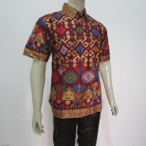 grosir aneka model baju batik pria solo online yang menjual motif terbaru dan modern dari koleksi butik terpercaya di semarang jogja surabaya