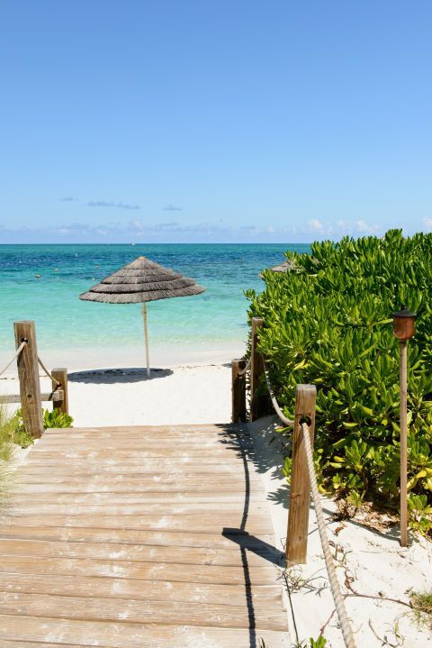 With 12 miles of white sand beaches and the clearest water you'll likely ever encounter, there's no question why Grace Bay Beach on the north shore of the island of Providenciales in Turks and Caicos made this list.