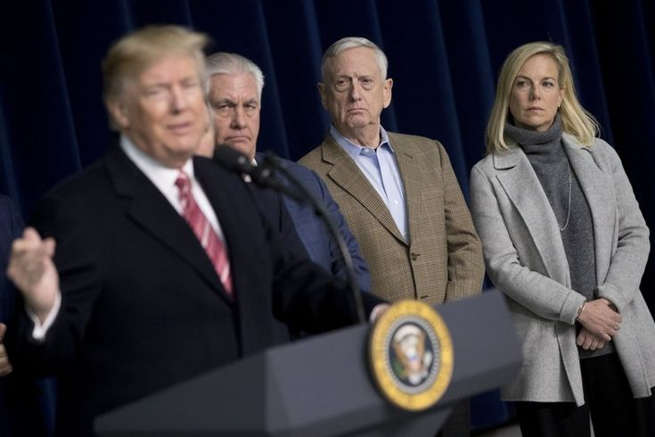 THURMONT, Md. (AP) — President Donald Trump says he's done campaigning for insurgents challenging incumbent Republican members of Congress.  Trump told reporters after meeting GOP House and Senate leaders at Camp David on Saturday that he's planning a robust schedule of campaigning for the 2018 midterm elections and that includes involvement in the Republican primaries.   #Alabama #BarackObama #CampDavid #CatoctinMountains #Congress #DACA #DeferredActionforChildhood