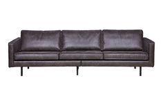 Eleganz im Loft Stil Lässig modernes Sofa mit genügend Platz zum Relaxen. Die Geradlinigkeit dieser Couch lässt diese zeitlos erscheinen und fügt sich dadurch nahtlos in jedes Ambiente ein. Holz- oder Industrialeinrichtung, das Sofa...