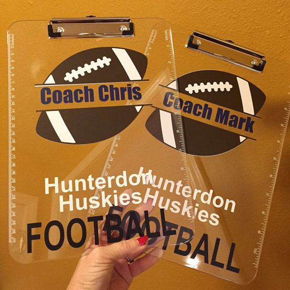 Football Coach gift personalized football von ArtsyWallsAndMore