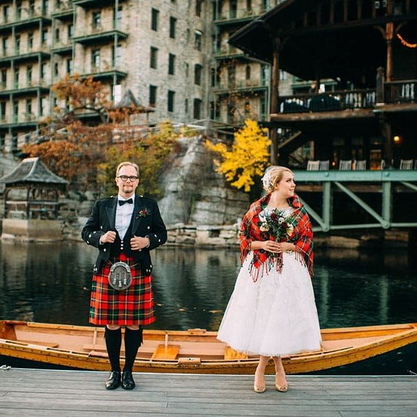 Свадебные наряды. Шотландия.