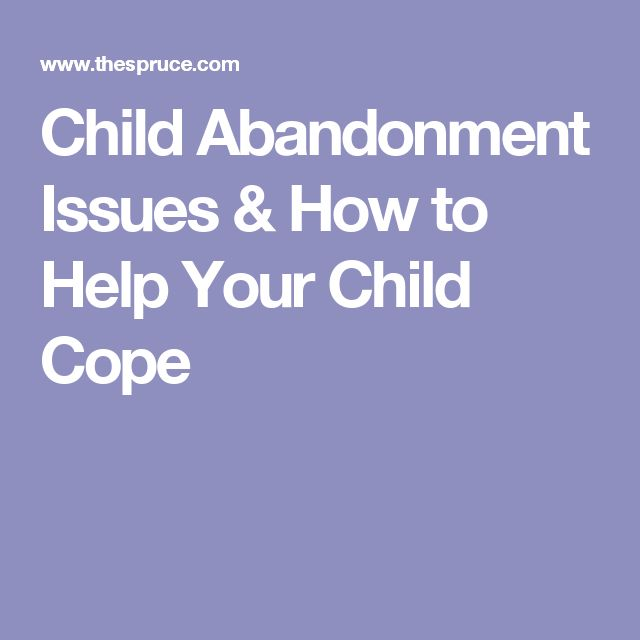 abandonment issues in adults