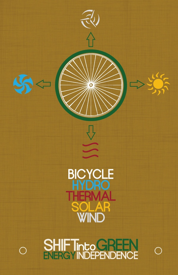 Alternative Energy Ad Campaign by Cole Parnell, via Behance
