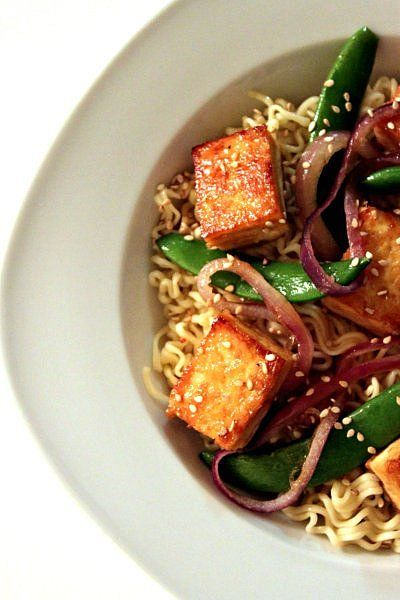 56 best maple crown images on pinterest crown royal postres and a little crown royal maple brings this sesame maple roasted tofu and noodle dish to forumfinder Images