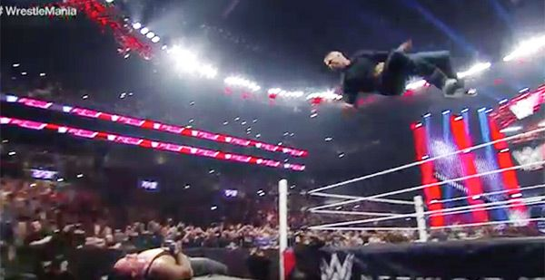 WWE 'Raw': Shane McMahon Lays Out The Undertaker With Epic Elbow-Drop —Watch