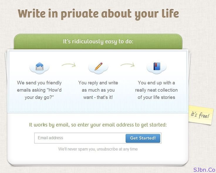 OhLife - Write in private about your life  I think it is the one best app to write personal diary as it will be not accessible by anyone and they send you a daily email asking us about our day so we can easily get habit of writing it.